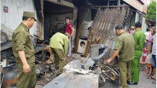 Ba mẹ con tử vong vì hỏa hoạn ở Nam Định: 'Chồng đi lắp điều hoà ở Thanh Hoá thì gia đình gặp nạn'