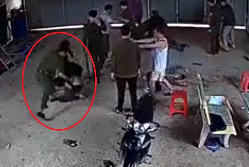 Công an huyện Tam Đảo bị tố hành hung người dân ở Tuyên Quang2