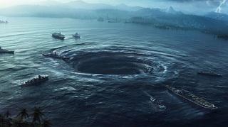 Bí ẩn những xoáy nước khổng lồ như hố tử thần trên Đại Tây Dương