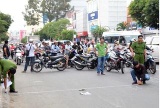 Bắt nghi can giết người chỉ vì va chạm giao thông ở Sài Gòn