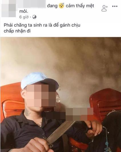 Những dòng trạng thái trên Facebook cá nhân hung thủ dùng dao sát hại bạn gái3