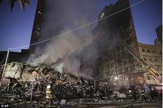 Video: Tòa nhà 26 tầng ở Brazil đổ sập hoàn toàn vì hỏa hoạn