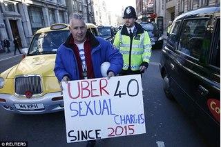 Chấn động: 103 tài xế Uber bị cáo buộc lạm dụng tình dục khách hàng nữ