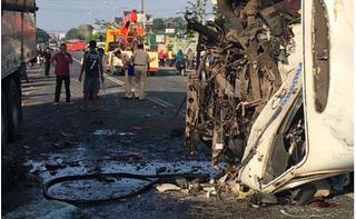 Hé lộ nguyên nhân xe khách gây tai nạn thảm khốc, 14 người thương vong