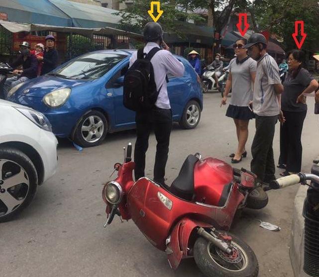 """Tuyên bố """"con người không quan trọng"""" sau khi va chạm giao thông, nữ tài xế Hải Phòng bị ném đá dữ dội2"""