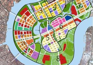 Chuyện gì xảy ra với bản đồ quy hoạch 1/5.000 Khu đô thị Thủ Thiêm?