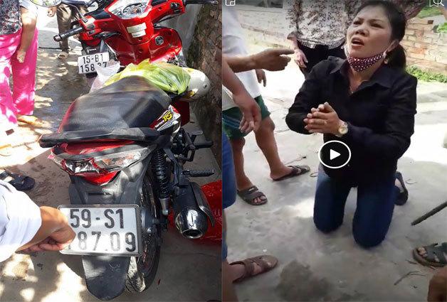 Ninh Bình: Người dân tiến hành vây bắt 4 đối tượng thôi miên cướp tài sản