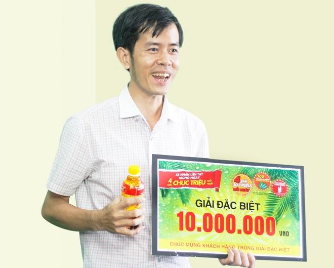 chương trình khuyến mãi hè Tân Hiệp Phát trao hàng nghìn giải thưởng