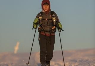 Hành trình vượt qua 224km lạnh tê buốt ở Bắc Cực của cô gái Việt