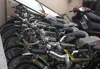 Xe đạp tuần tra Công an Hà Nội 'đắp chiếu'
