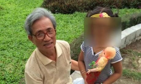 Đề nghị kháng bản án tuyên 18 tháng tù treo với bị cáo U80 dâm ô trẻ em
