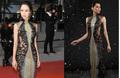 Bị 'bóc mẽ' mặc váy nhái tại Cannes, Vũ Ngọc Anh xin lỗi, mong thông cảm