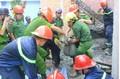 Sập trần bê tông làm hai người chết và nhiều người bị thương