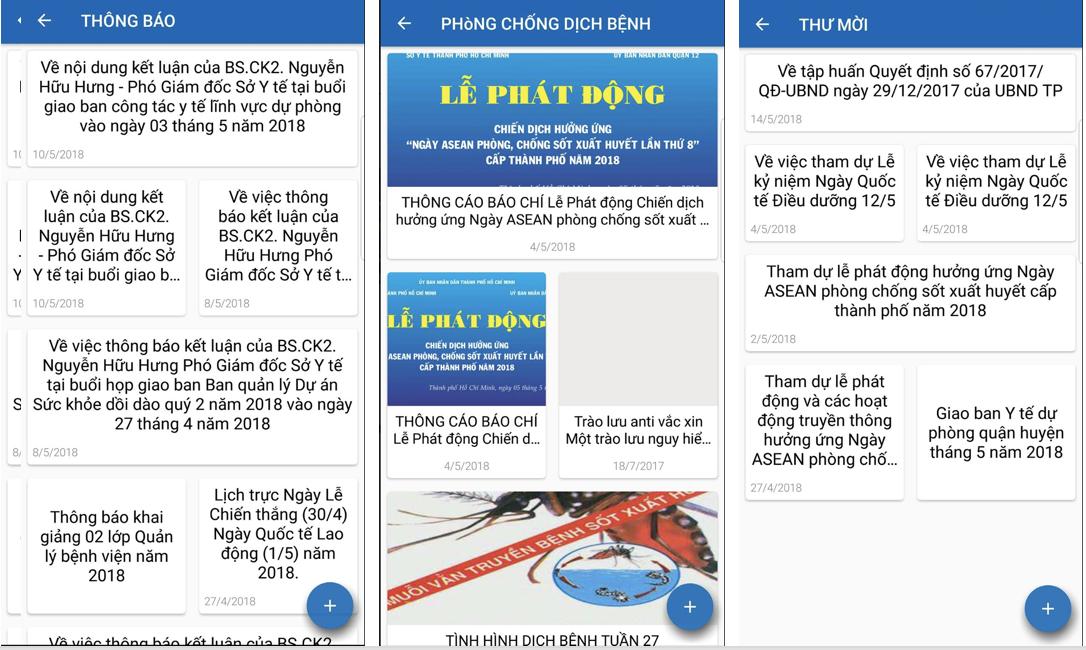 Ứng dụng của Sở Y tế TP.Hồ Chí Minh giúp người dân tra cứu thông tin 2