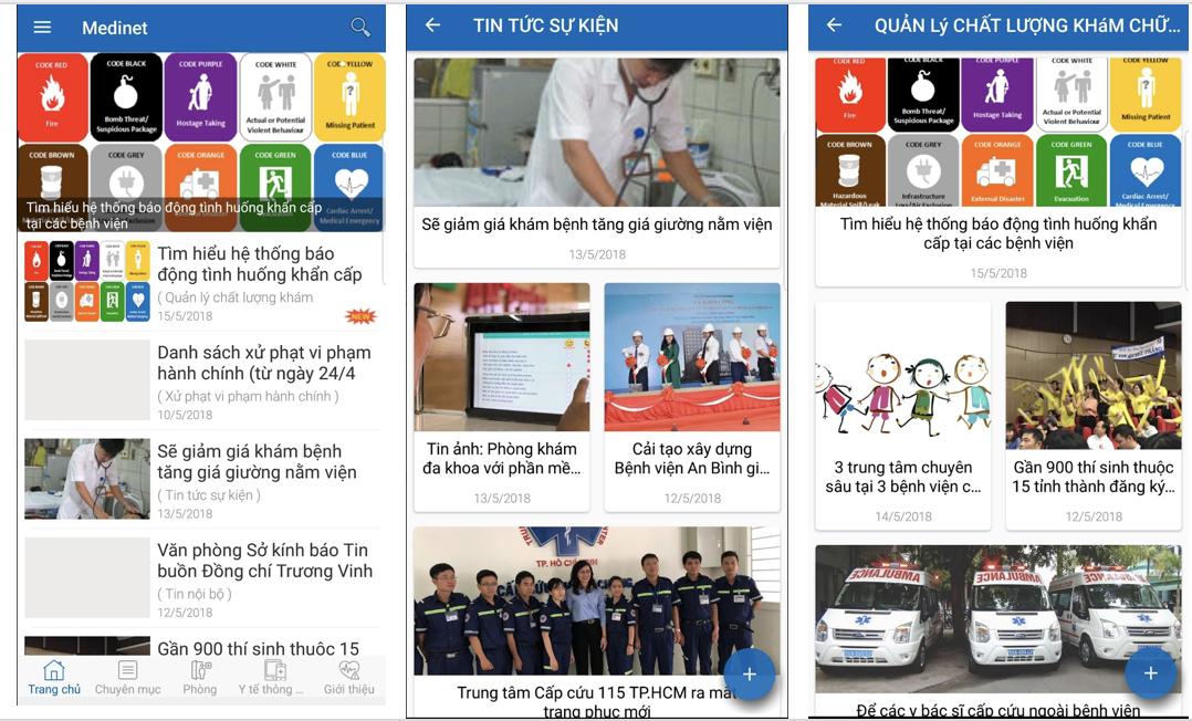 Ứng dụng của Sở Y tế TP.Hồ Chí Minh giúp người dân tra cứu thông tin 3