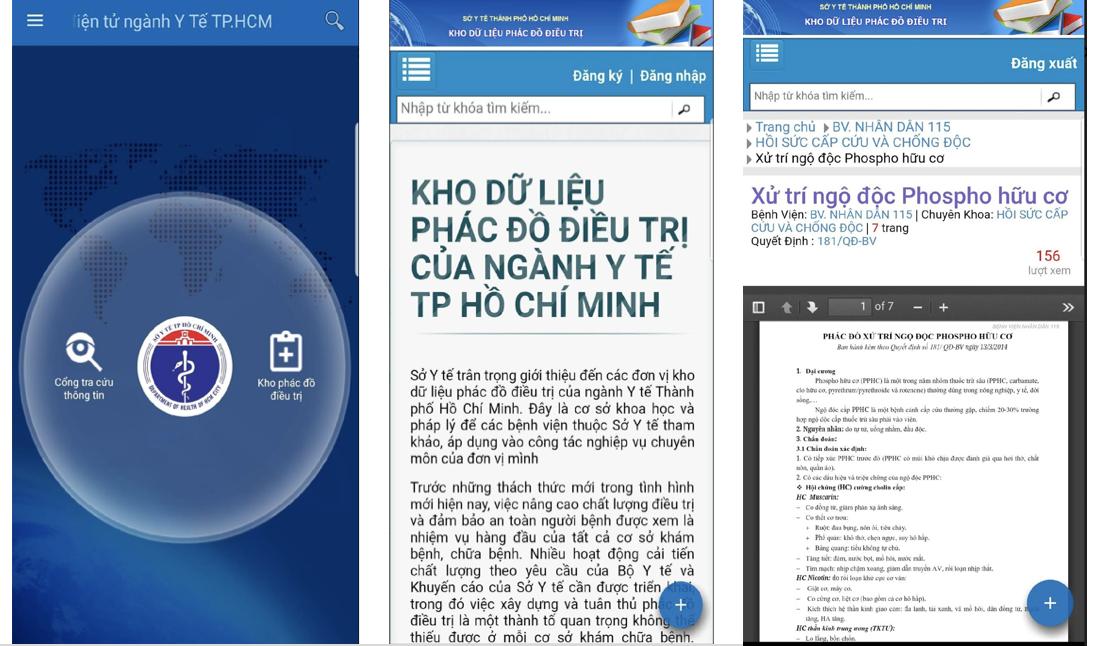 Ứng dụng của Sở Y tế TP.Hồ Chí Minh giúp người dân tra cứu thông tin 5