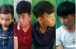 Bắt nhóm cướp nhí gây ra hàng loạt vụ trấn lột tài sản ở Đà Nẵng
