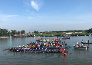 Tân Hiệp Phát đồng hành cùng giải đua thuyền truyền thống Quảng Nam