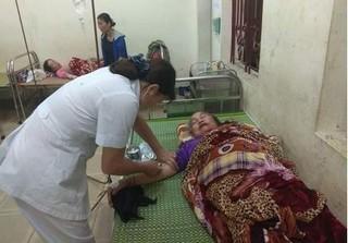 Nghệ An: Ngồi trong nhà, 4 mẹ con bà cháu bị sét đánh bị thương