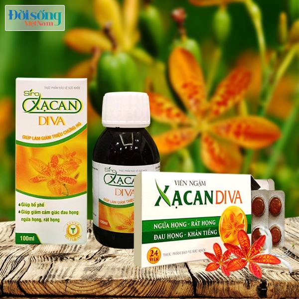 Công ty Cổ phần Dược phẩm Diva không chịu trách nhiệm về chất lượng sản phẩm trên website Xacan.vn