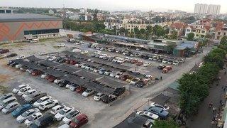 Đóng cửa hai bãi xe ở Linh Đàm: Chủ 'xế hộp' náo loạn