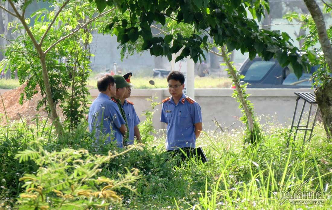 Khai quật tử thi nữ kế toán ở Nghệ An để điều tra lại