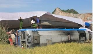 Tai nạn tàu hỏa tông xe tải ở Thanh Hóa: Ai bồi thường?
