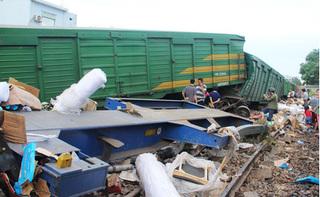Vụ 2 tàu hỏa tông trực diện ở Quảng Nam: Công an lấy lời khai của 2 lái tàu
