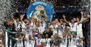 Real Madrid lập kỷ lục lần thứ 3 liên tiếp vô địch Champions League