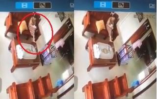 Mẹ như 'tắc thở' khi check camera phát hiện con 3 tháng tuổi bị giúp việc giật lắc điên đảo