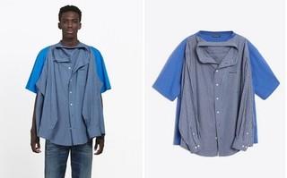 Bạn đã biết gì chiếc áo 2 in 1 gây sốt cộng đồng mạng của Balenciaga?