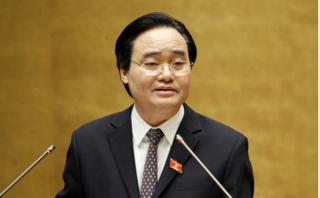 Bộ trưởng Phùng Xuân Nhạ lên tiếng giải thích đổi học phí thành 'giá dịch vụ đào tạo'