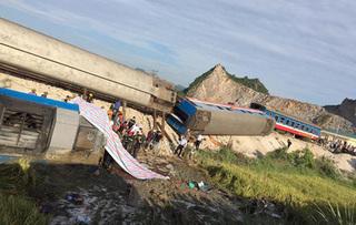 Xác định nguyên nhân vụ lật tàu hỏa kinh hoàng ở Thanh Hóa