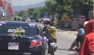 Nghệ An: Phạt hơn 35 triệu đồng nhóm 'quái xế' đánh võng rước dâu