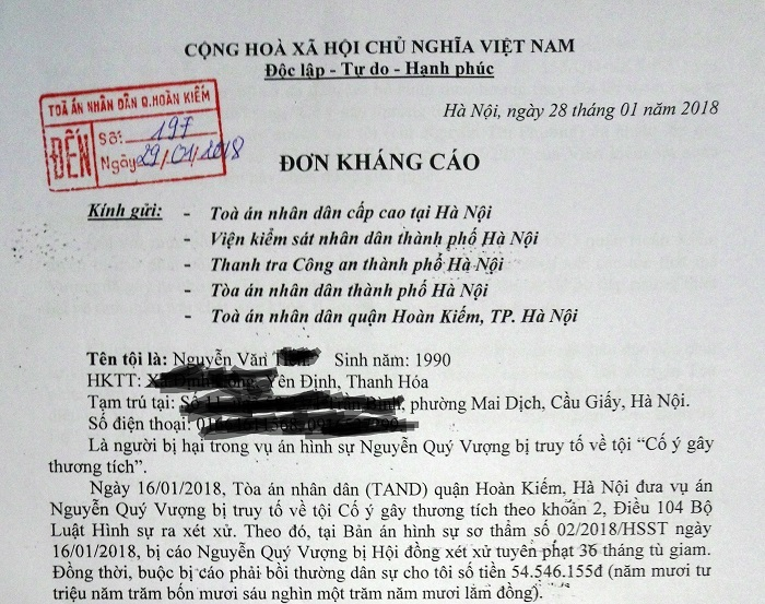 Vụ án Nguyễn Quý Vượng2