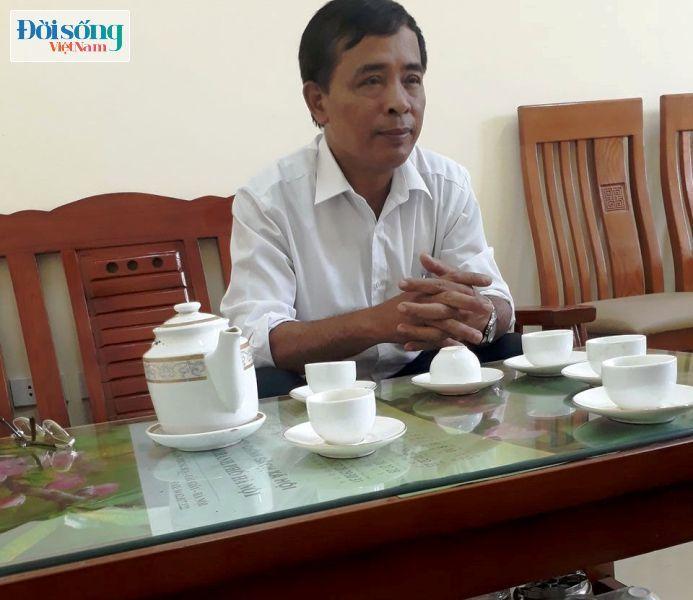 Ông Chử Văn Hải, Phó Chủ tịch xã Vạn Phúc