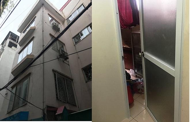 Ngôi nhà và căn phòng chị T bị sát hại