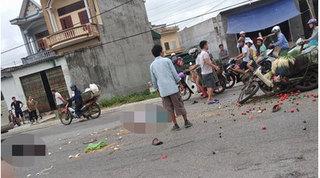Vụ xe máy va chạm với xe ô tô tải: Người chồng đã tử vong