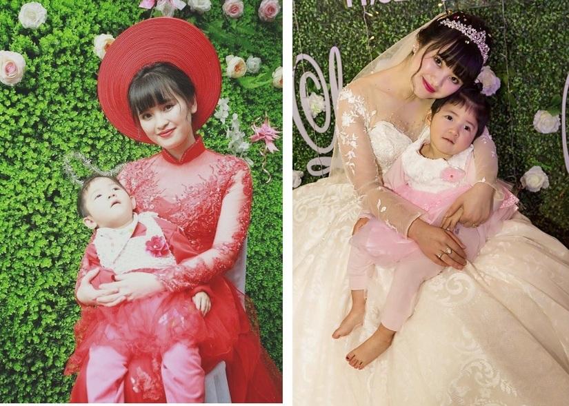 9X nhận nuôi bé gái ở Lào Cai khoe ảnh chồng đi học tiền sản