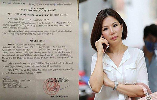 Vợ cũ được trả tự do, bác sĩ Chiêm Quốc Thái nói gì và hành động gì?