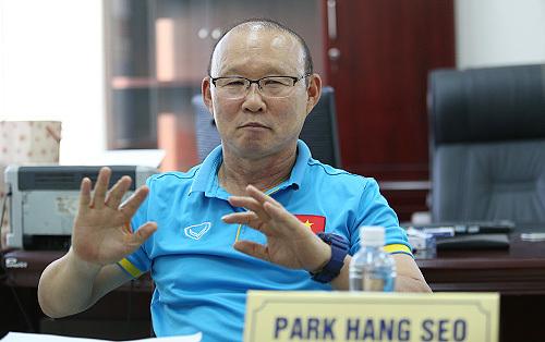 HLV Park Hang Seo tự tin giúp Việt Nam hạ Thái Lan