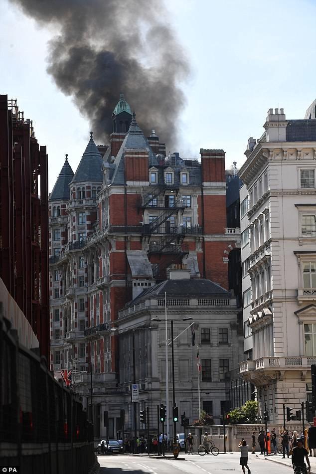 Hỏa hoạn tại trung tâm London