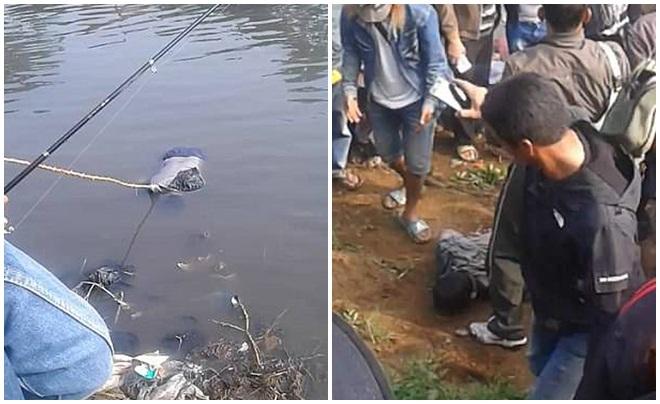 Tham gia cuộc thi câu cá, cần thủ đen đủi câu được thứ khủng khiếp