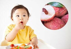 Cho trẻ ăn quả vải đúng cách để không bị nóng trong và hấp thu tối đa dinh dưỡng