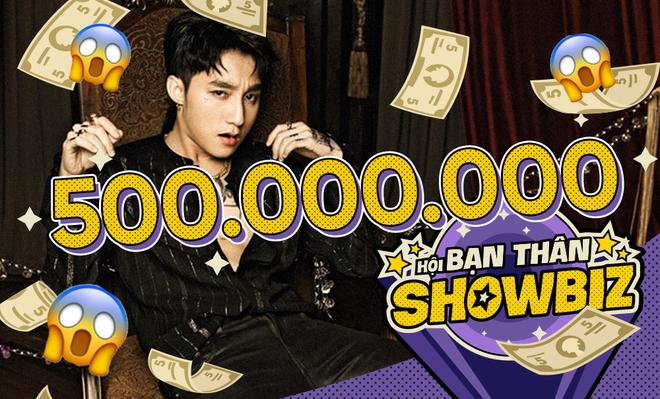 Cát-xê diễn ở quán bar của Sơn Tùng M-TP đã lên tới con số 'nửa tỉ đồng'