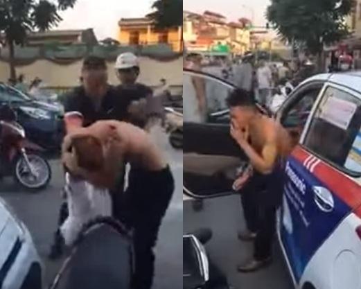 Đâm xe rồi phóng bỏ chạy, tài xế taxi bị nhóm người đánh dã man