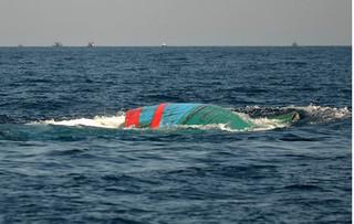 Va chạm với tàu lạ, 5 ngư dân mất tích trên biển Nha Trang