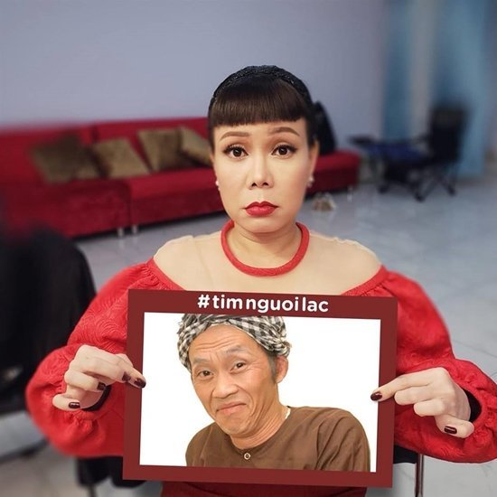 Việt Hương tiết lộ Hoài Linh đi bụi và chưa thấy về