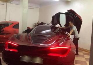 Cường Đô la tậu thêm siêu xe thể thao McLaren 720S gần 22 tỷ?