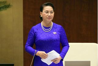 Chủ tịch Quốc hội kêu gọi người dân bình tĩnh, tin tưởng vào quyết định của Đảng, Nhà nước